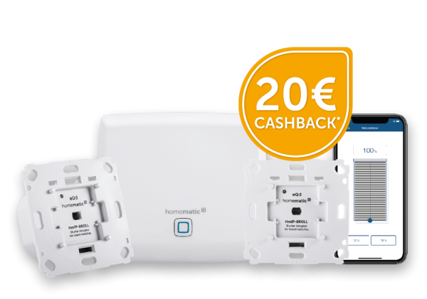 Homematic IP Starter Set Beschattung