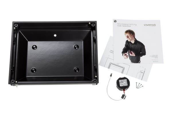 Viveroo square Montageset Inwall