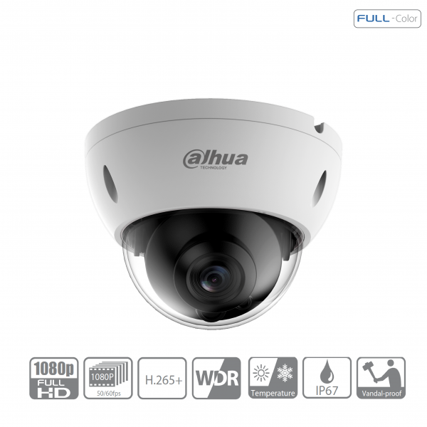 Dahua IPC-HDBW4239RP-ASE-0360B IP Dome Überwachungskamera 2 Megapixel Full-Color Starlight