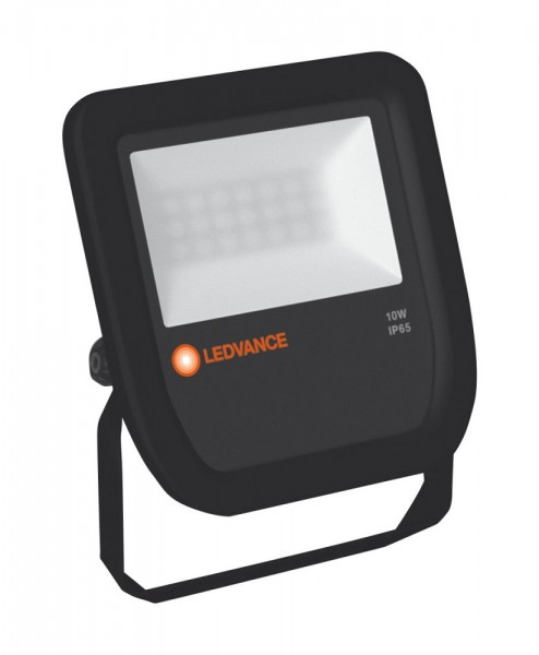 LEDVANCE FLOOD LED 10W 3000K 1050 Lumen IP65 Floodlight Fluter schwarz
