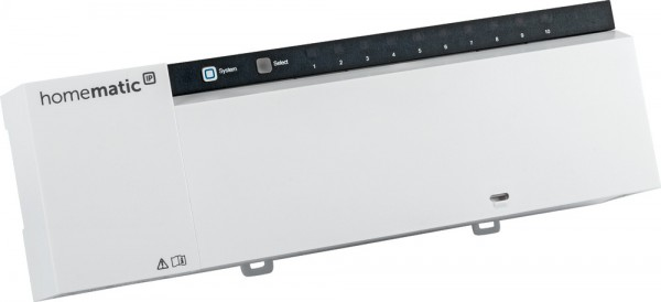 Homematic IP Wired Fußbodenheizungsaktor – 10-fach, 24 V