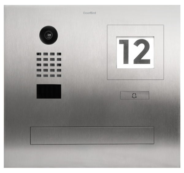 Doorbird IP Video Türstation D2101FPBI